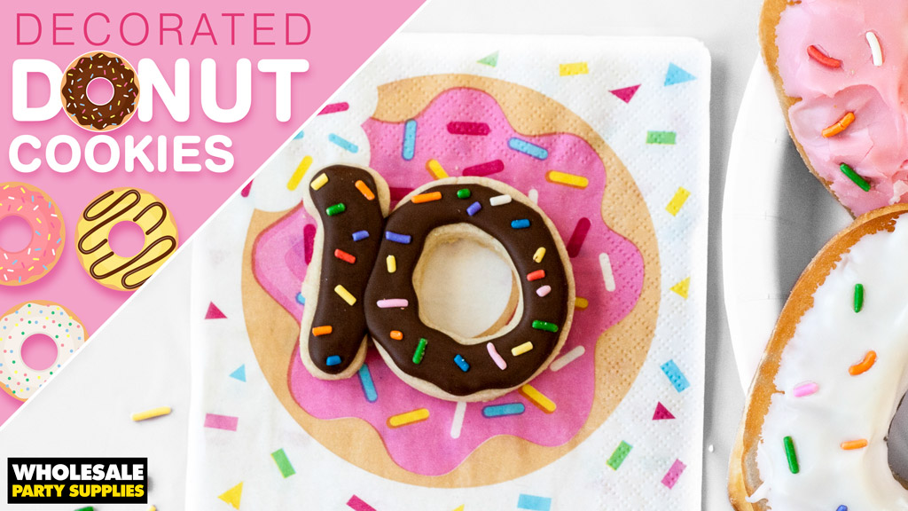 Decorated Donut Sugar Cookies