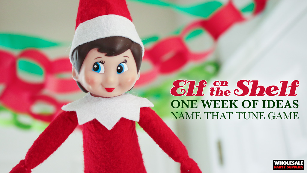 Elf on the Shelf: Name That Tune Game