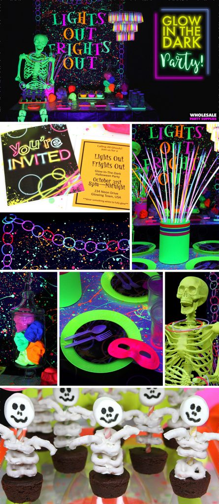 Glow In The Dark Halloween Party Ideas