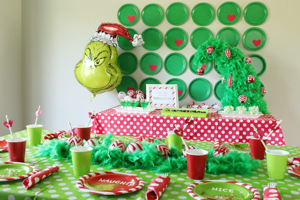 Grinch Party Decorations