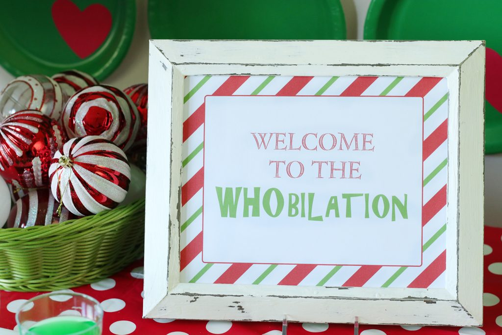 Grinch Party Decoration Ideas