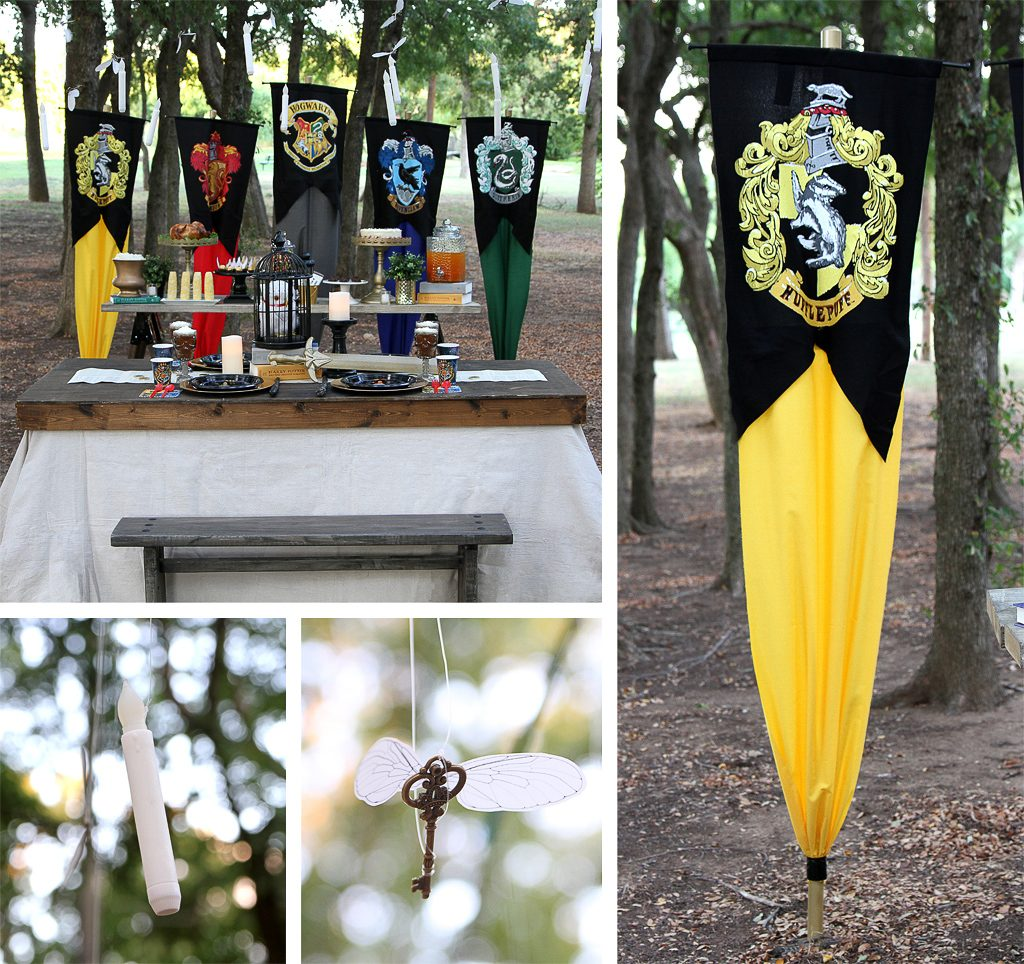Harry Potter Party Tablescape