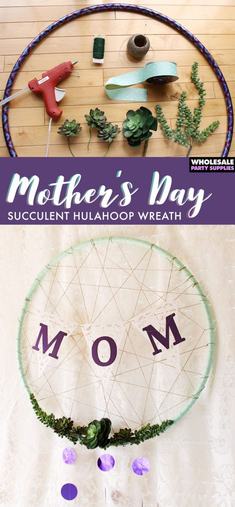 Hula Hoop Succulent Dreamcatcher Pinterest Guide