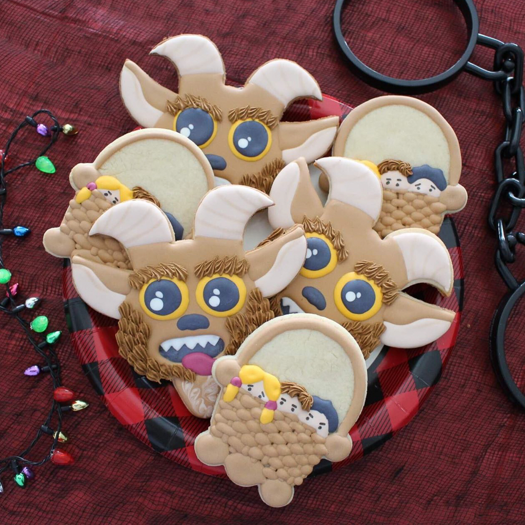 Krampus Christmas Cookies Tutorial