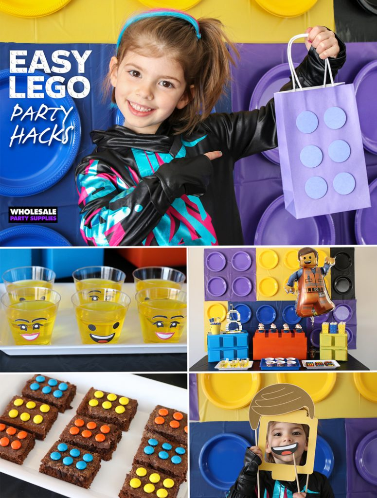 Lego Party Hacks and Free Printables