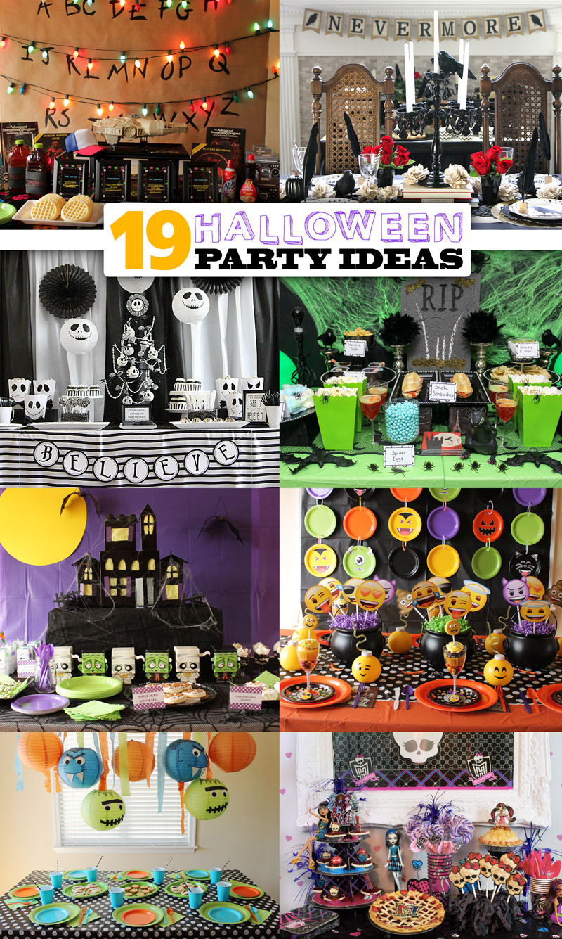 The Best Halloween Party Ideas From Our Blog