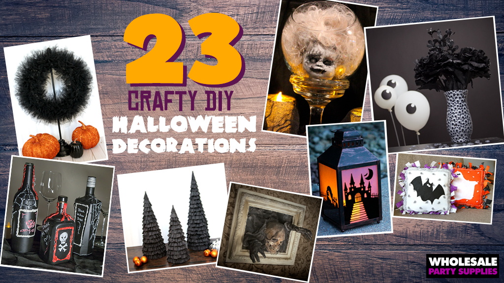 23 DIY Decorations for your Halloween Party