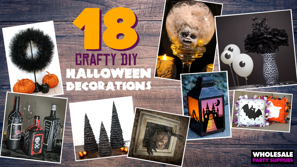 18 Crafty DIY Halloween Decorations