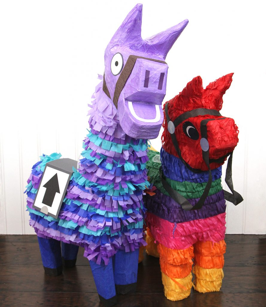 DIY Fortnite Loot Llama Pinata Upgrade