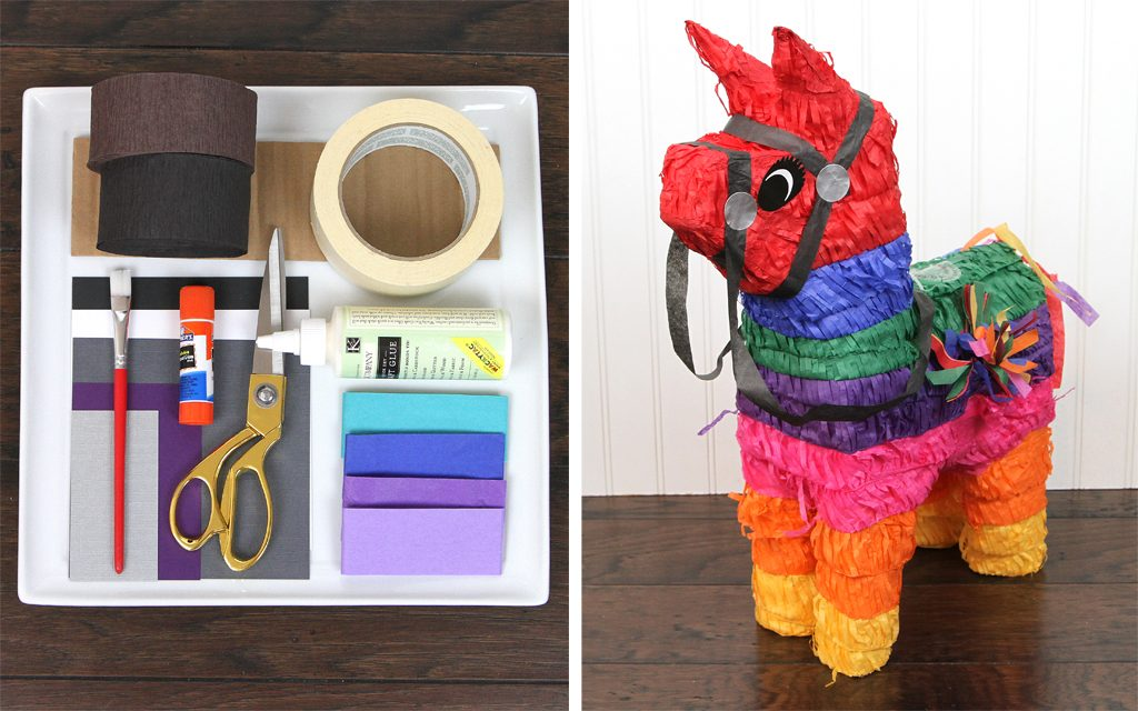 DIY Fortnite Loot Llama Pinata Upgrade Supplies