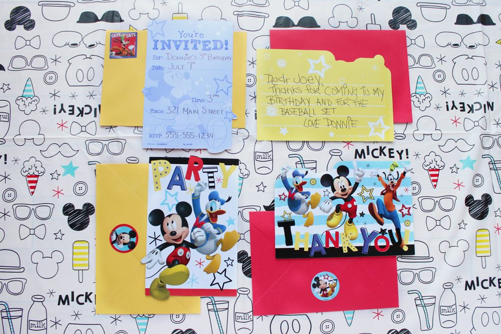 Mickey Mouse Party Invite Ideas