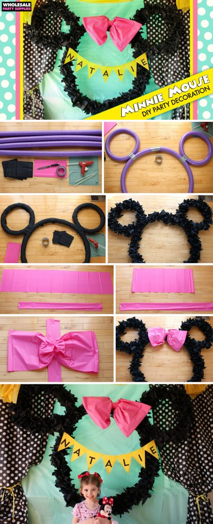 DIY Minnie Mouse Ears Decoration Pinterest Guide