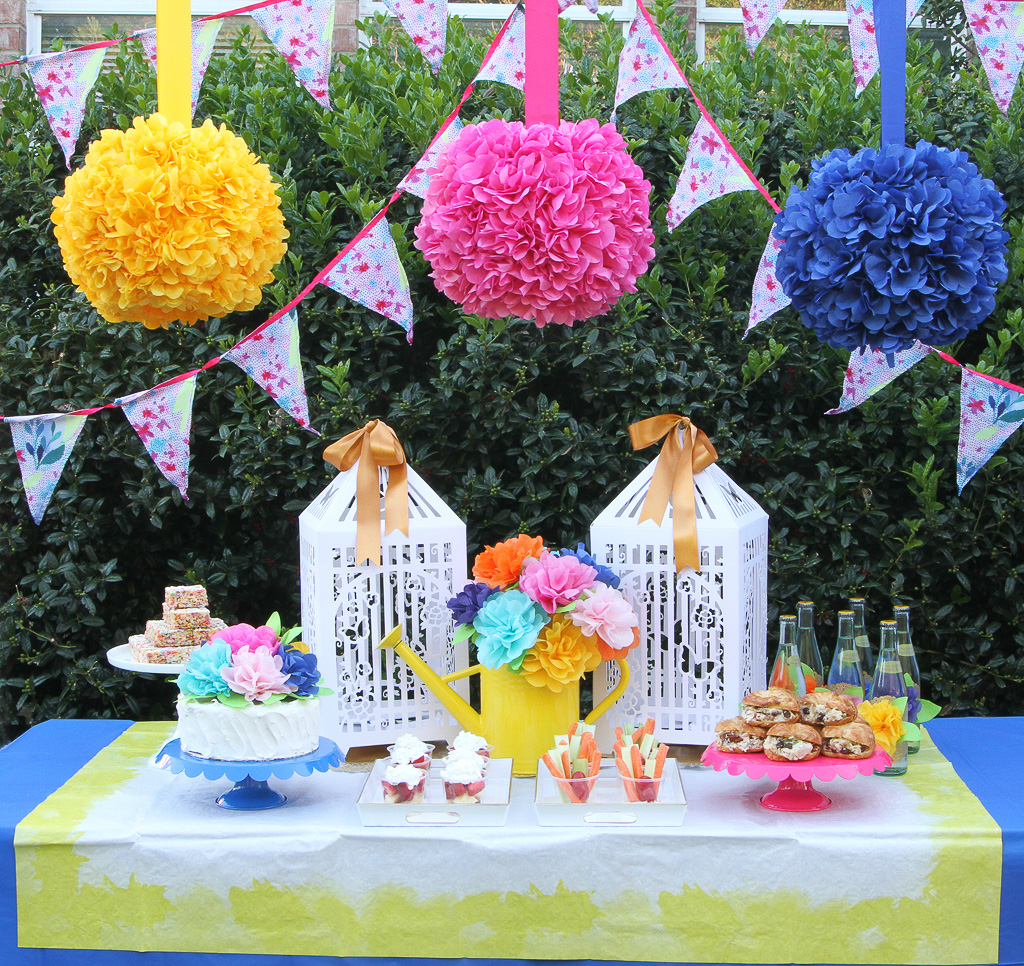 Blooming Garden Party Decorations