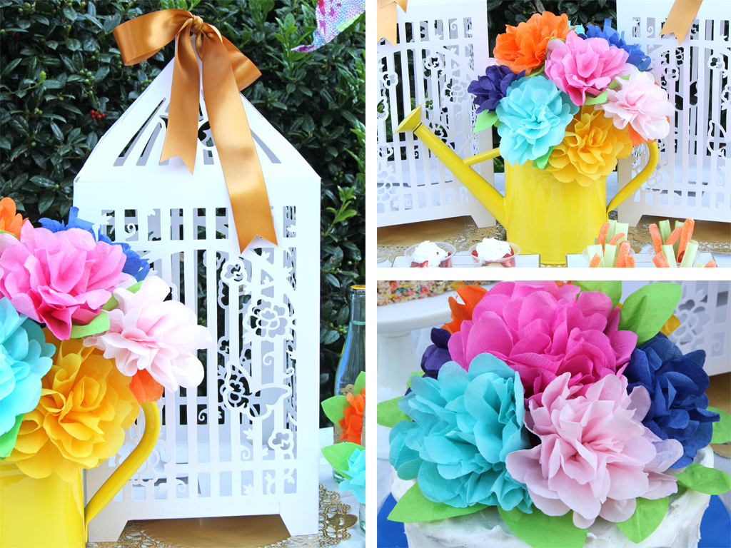Blooming Garden Party Decoration Details