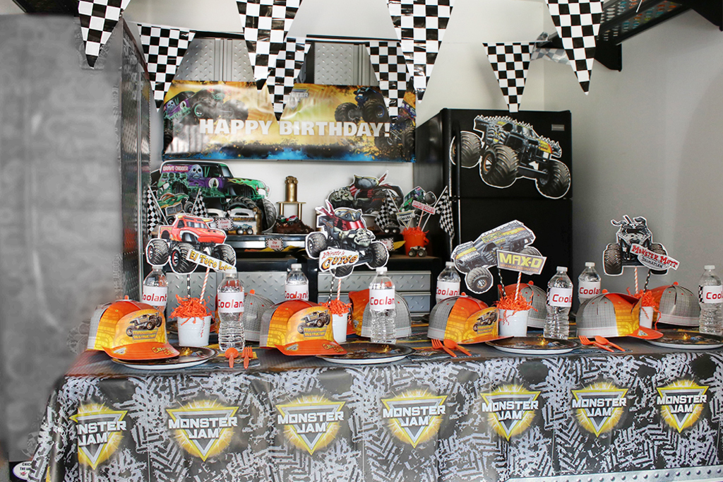 Monster Truck Party Decorations