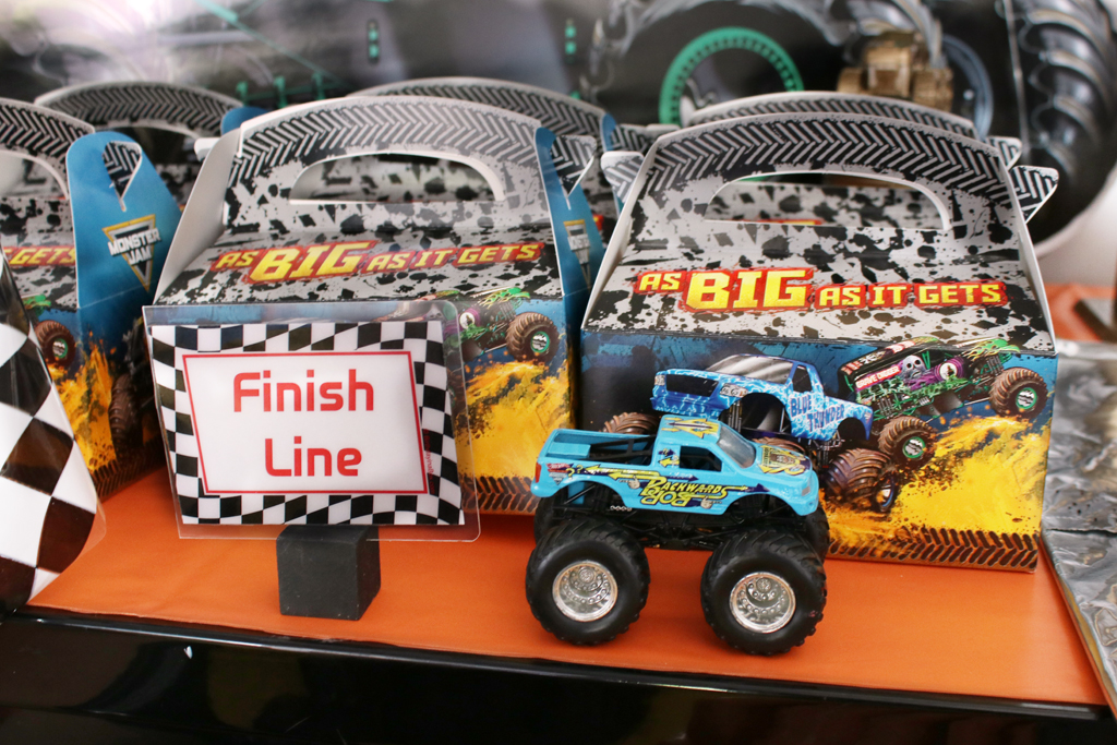 Monster Truck Party Favors