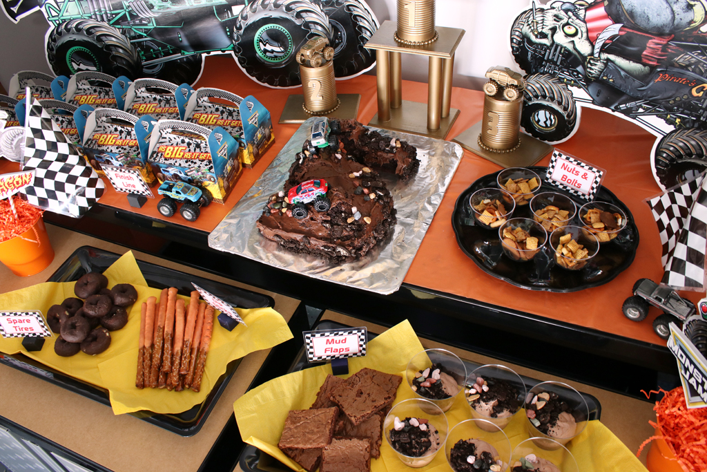 Monster Truck Party Food