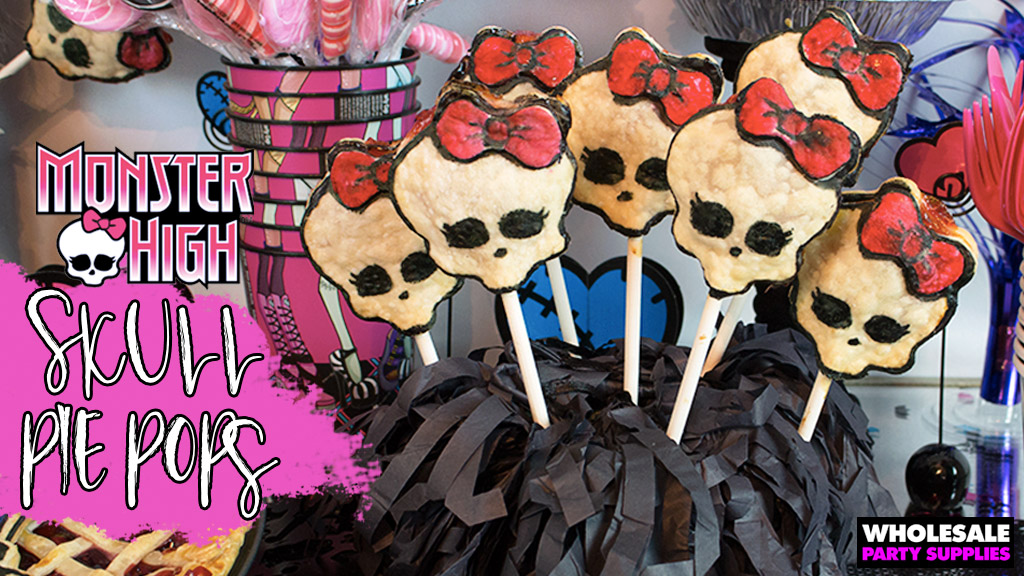 Monster High Skull Pie Pops