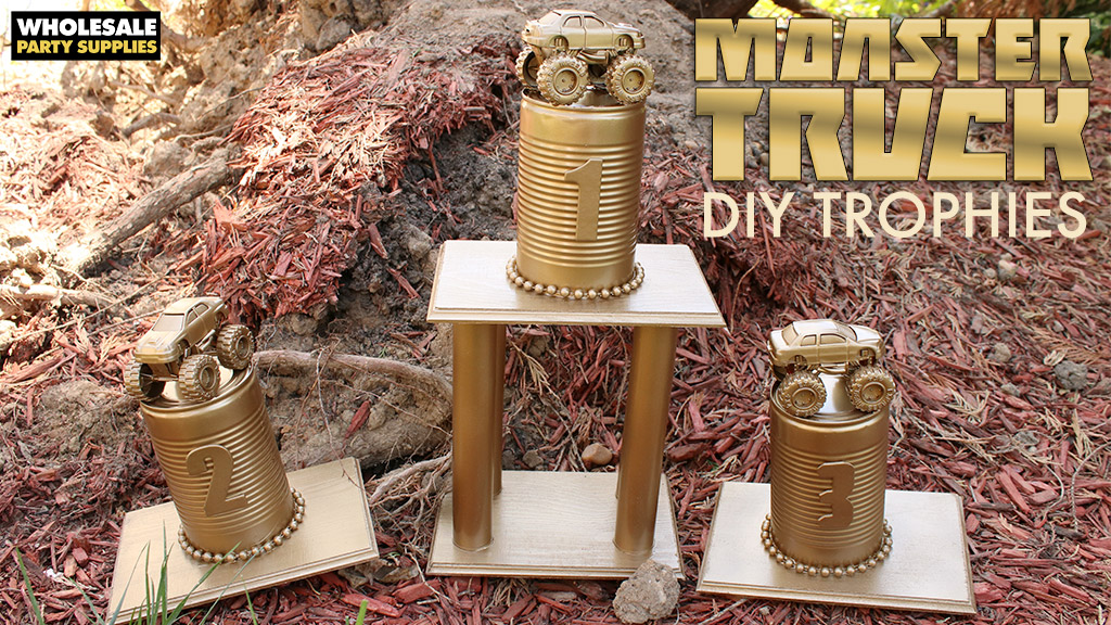 DIY Monster Truck Trophy