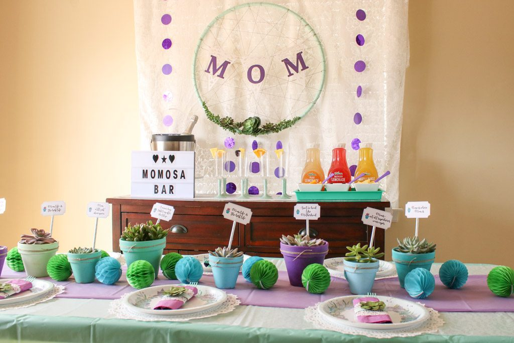 Mother's Day Brunch Decorations