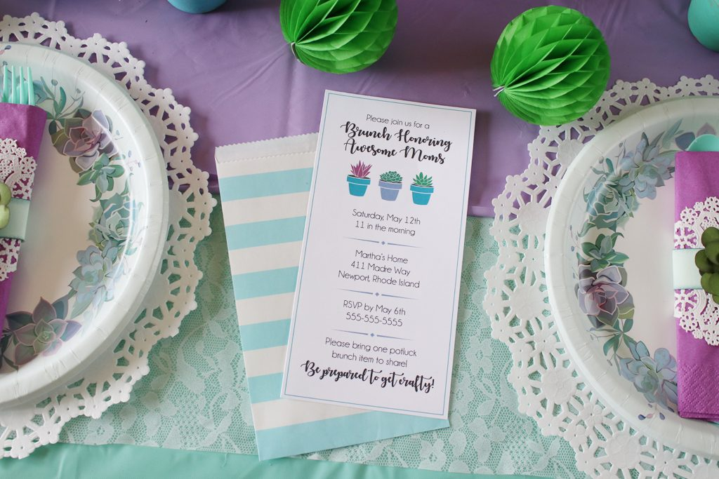 Mother's Day Brunch Invitation Ideas