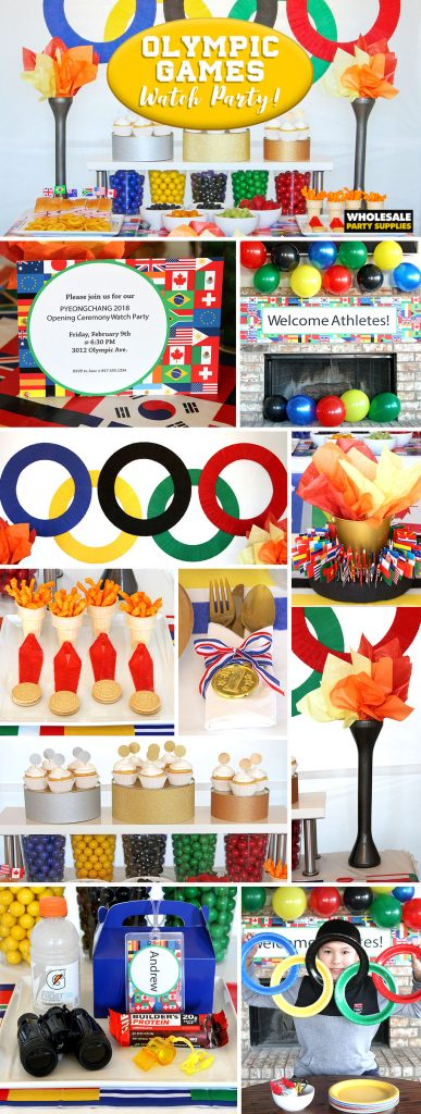 Olympics Watch Party Ideas Pinterest Guide