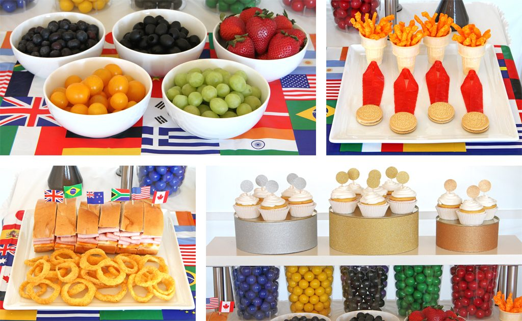 Olympics Watch Party Food Ideas