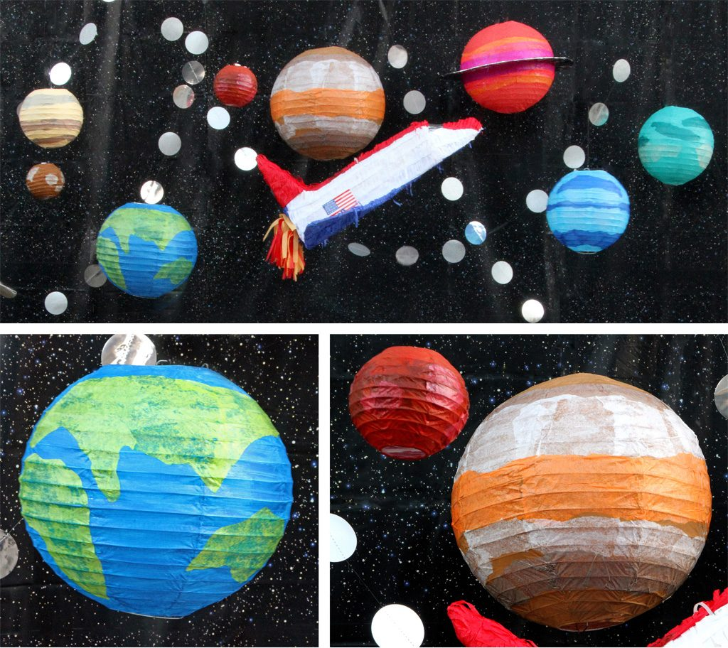 Outer Space Birthday Party Decoration Ideas