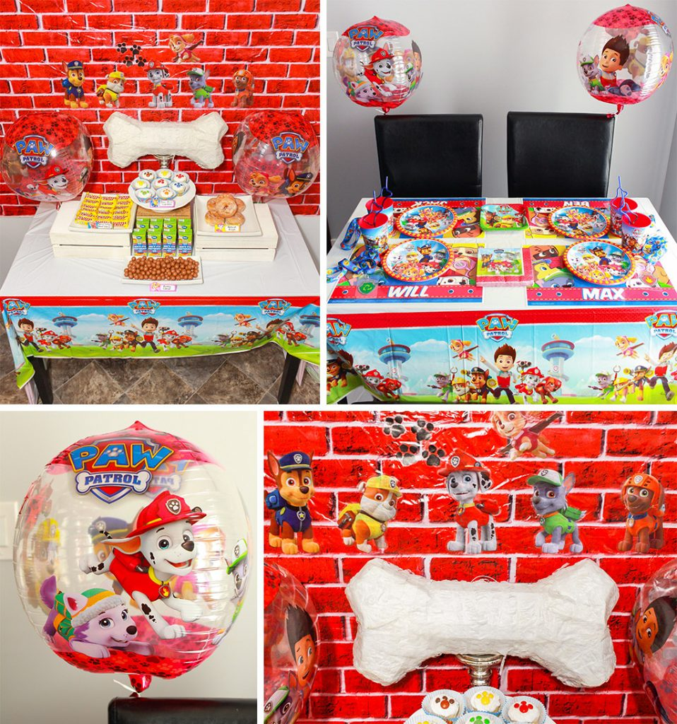 Paw Patrol Birthday Party Decorations