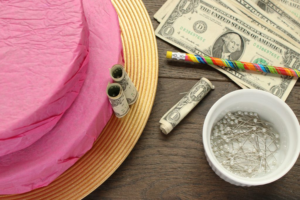 Graduation Party Gift - Money Cake