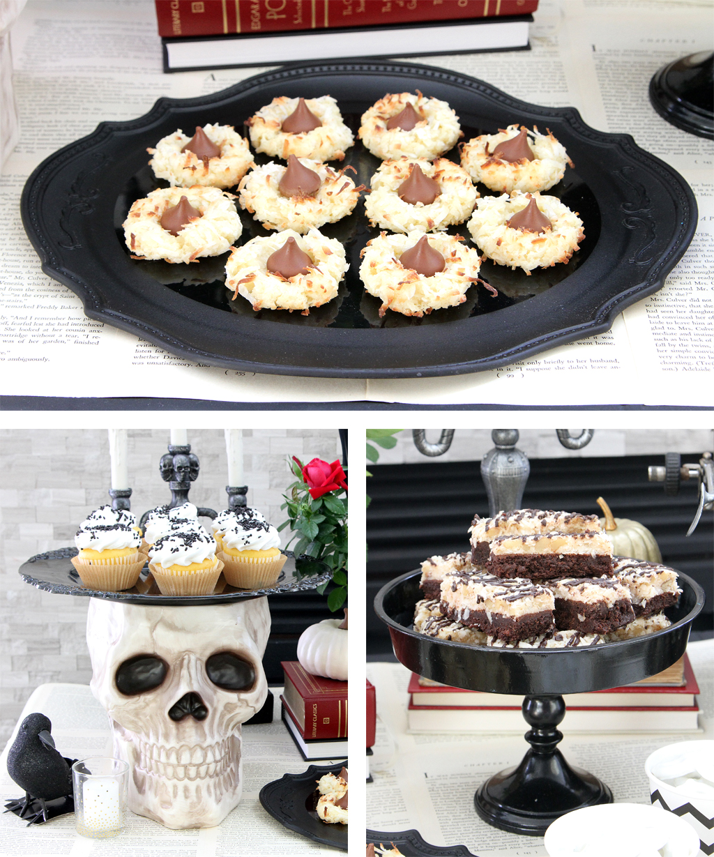 Edgar Allen Poe Themed Halloween Party Food