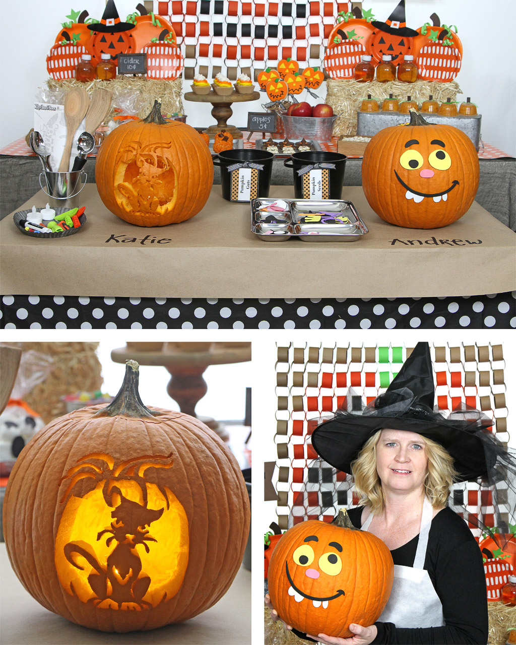 Halloween Pumpkin Carving Party Ideas