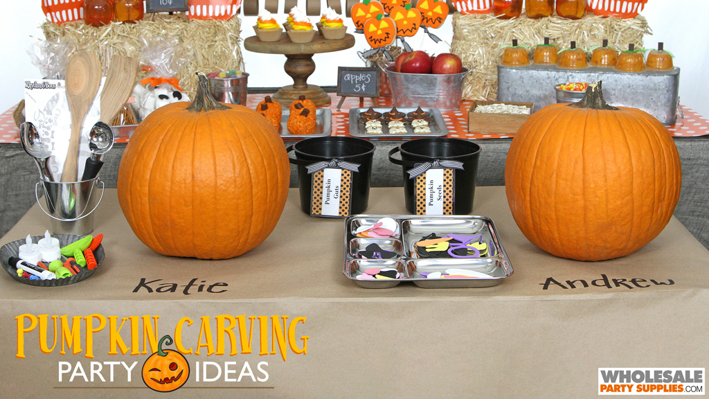 Pumpkin Carving Party Ideas