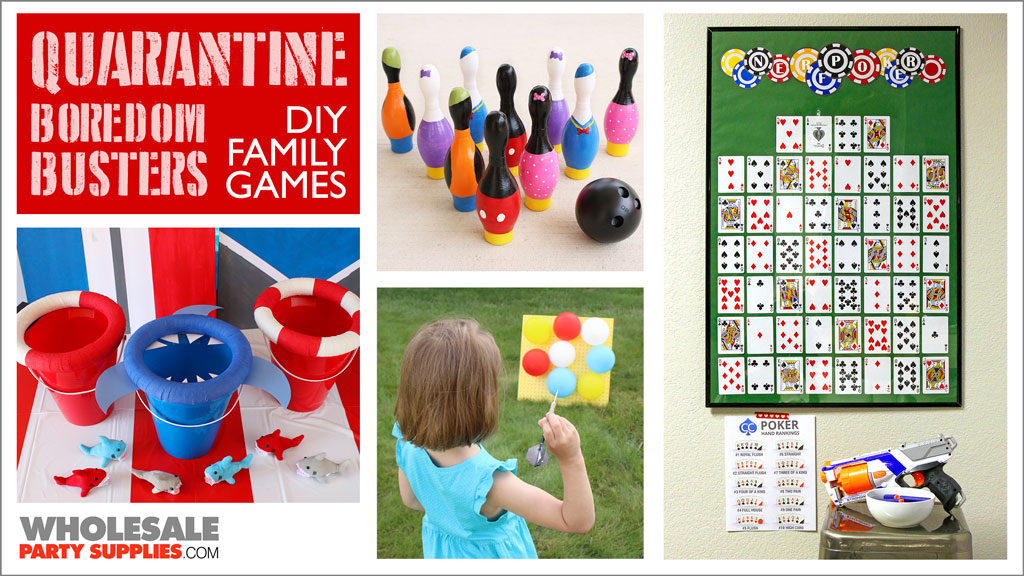 DIY Games for Quarantined Kids and Parents