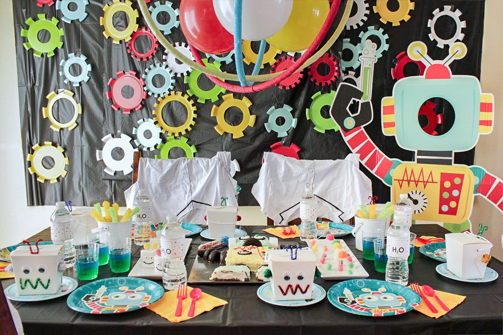 Robot Science Party Decorations