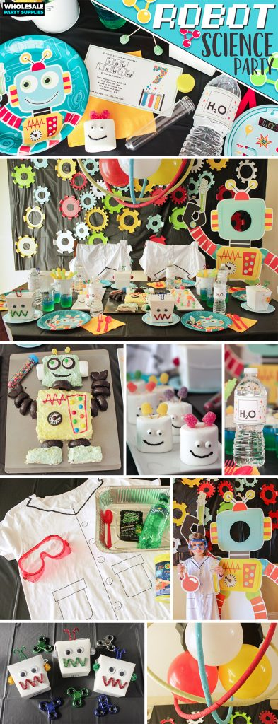 Robot Science Party Ideas Pinterest Guide
