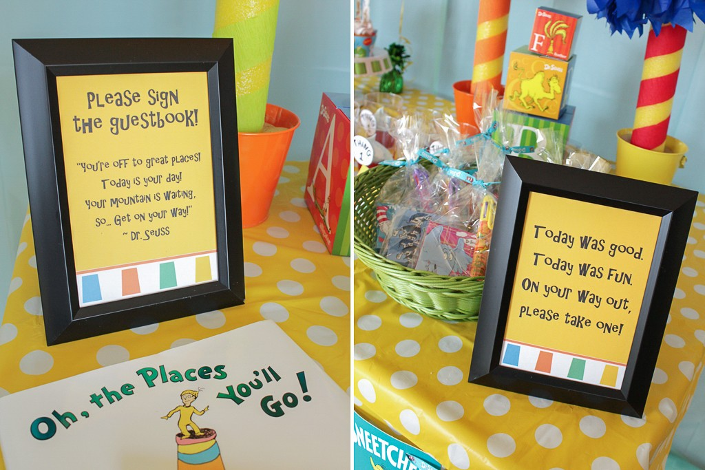 Dr. Seuss Birthday Party Activities