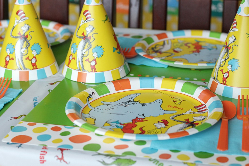 Dr. Seuss Birthday Party Details