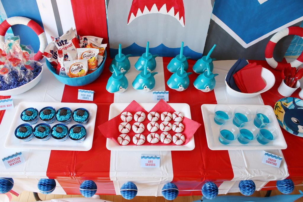Shark Birthday Party Food