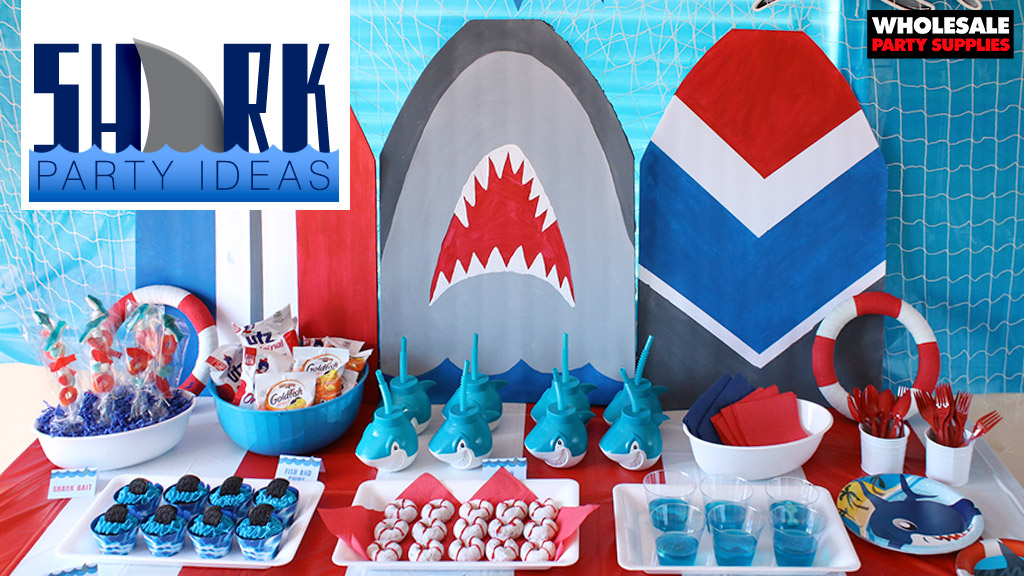 Shark Birthday Party Idease