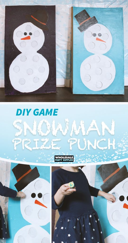 DIY Winter Prize Punch Game Tutorial Pinterest