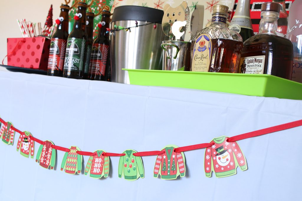 Ugly Sweater Holiday Party Garland