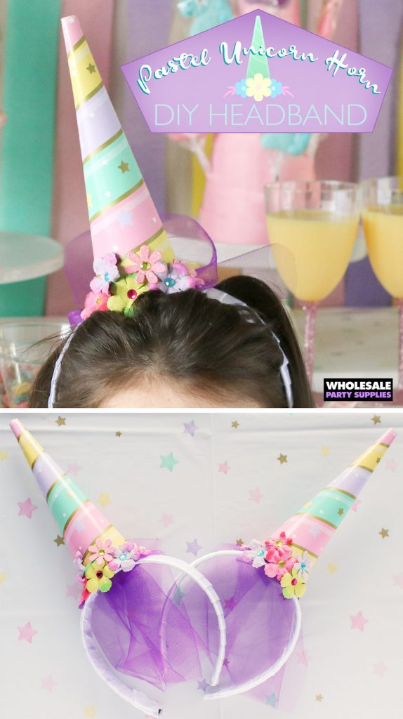 DIY Unicorn Horn Headband Pinterest