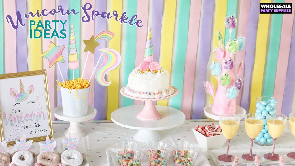 Unicorn Sparkle Party Ideas
