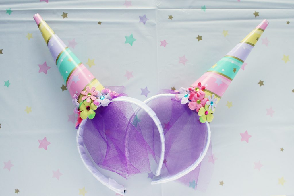 DIY Unicorn Horn Headband Step 3