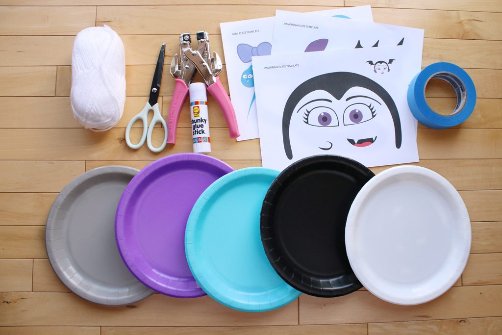 DIY Vampirina PhotoBackdrop Supplies
