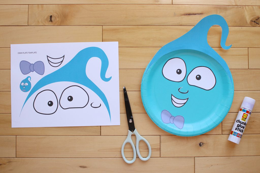DIY Vampirina PhotoBackdrop Step 2