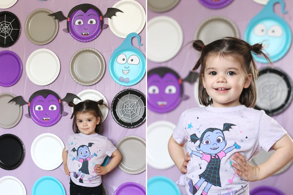 DIY Vampirina PhotoBackdrop Step 6