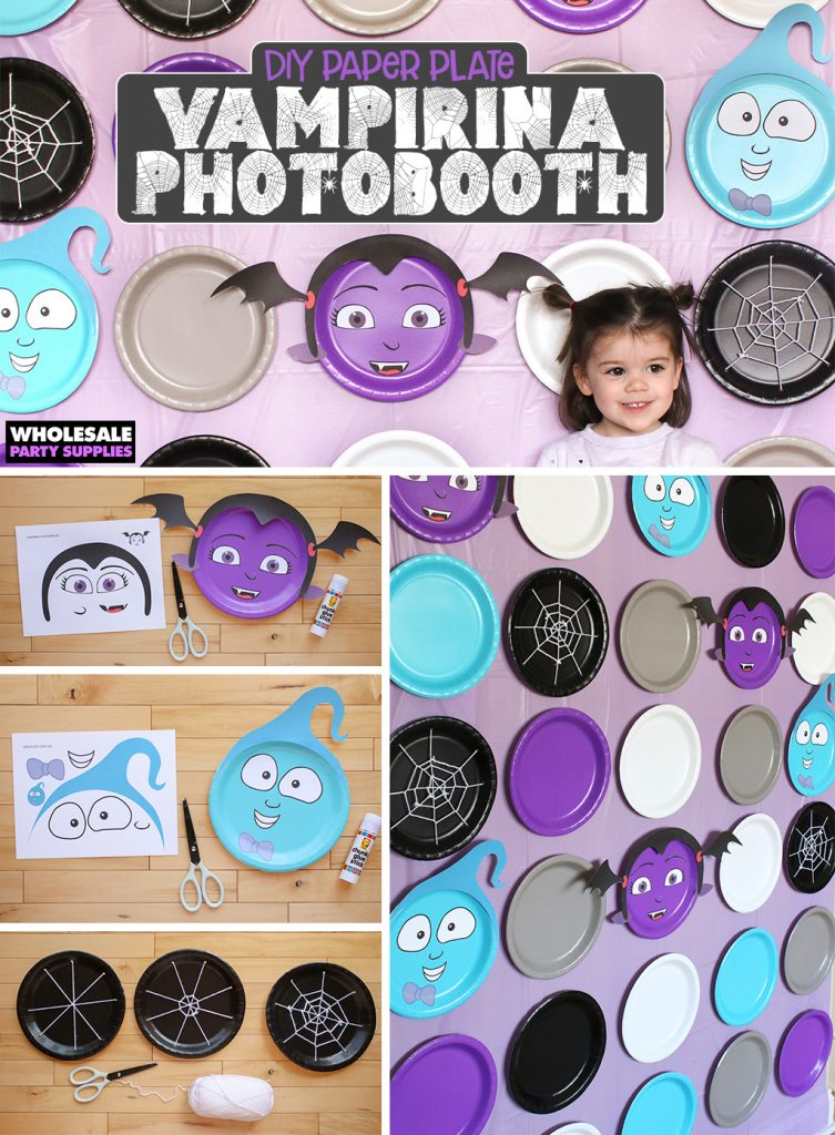 DIY Vampirina Photo Backdrop Pinterest Guide