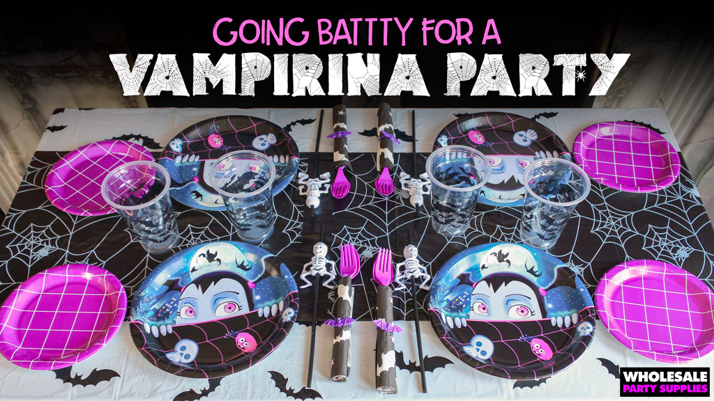 Going Batty for a Vampirina Party